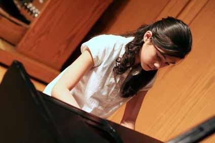 ピアノ発表会写真