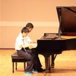 ピアノ発表会撮影
